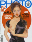 Cover PHOTO France October 2004
