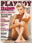 Cover Playboy Poland September 2007