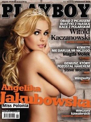 Cover Playboy Poland September 2010
