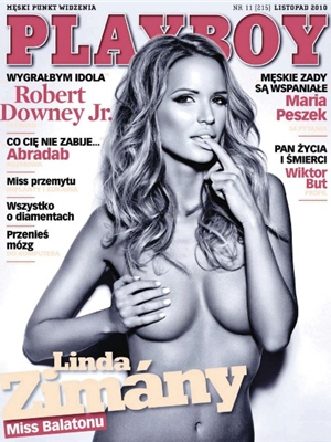 Cover Playboy Poland November 2010