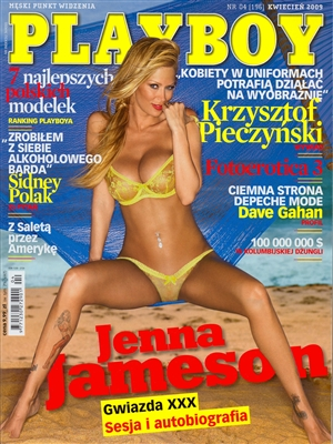Cover Playboy Poland April 2009