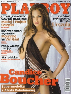 Cover Playboy Poland June 2010