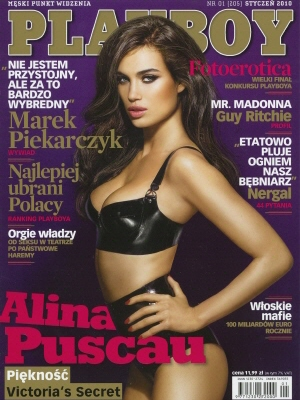 Cover Playboy Poland January 2010