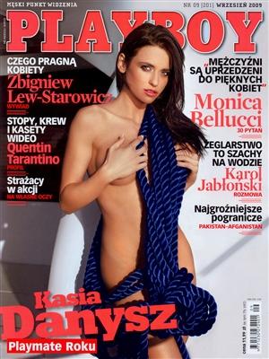Cover Playboy Poland September 2009