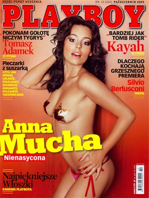 Cover Playboy Poland October 2009