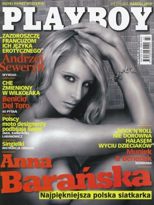 Cover Playboy Poland March 2010