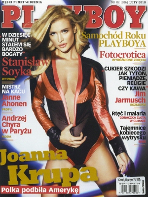 Cover Playboy Poland February 2010