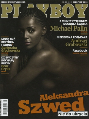 Cover Playboy Poland August 2010
