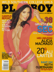 Cover Playboy USA October 2007