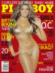 Cover Playboy USA August 2006