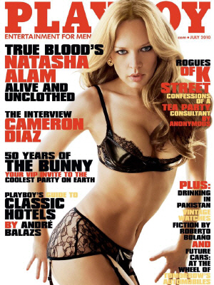 Cover Playboy July 2010