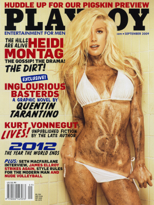 Cover Playboy USA September 2009