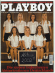 Cover Playboy Germany May 2002
