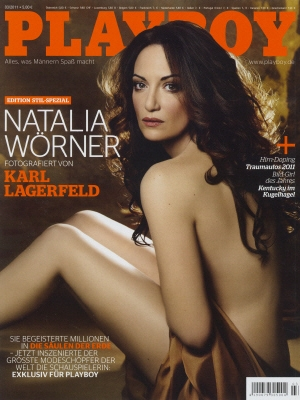 Cover Playboy Germany March 2011