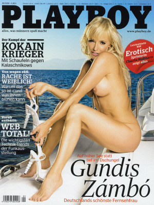 Cover Playboy Germany September 2009