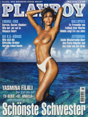 Cover Playboy May 1999