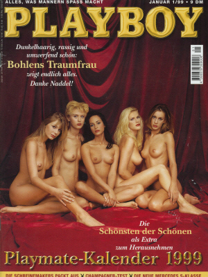 Cover Playboy January 1999