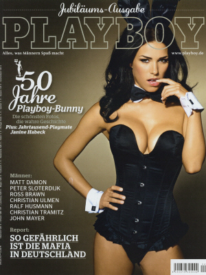 Cover Playboy Germany April 2010