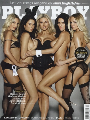 Cover Playboy Germany April 2011