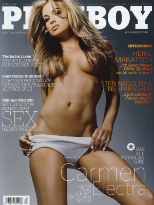 Cover Playboy Germany April 2009